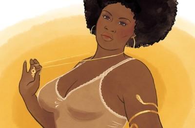 Recherche de préférence femme black un peu ronde